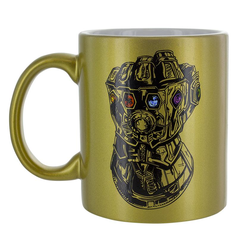 AVENGERS INFINITY WAR OFFICAL GOLD MUG