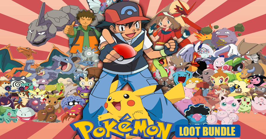 Pokemon Official Loot Bundle (July 2018 Edition)