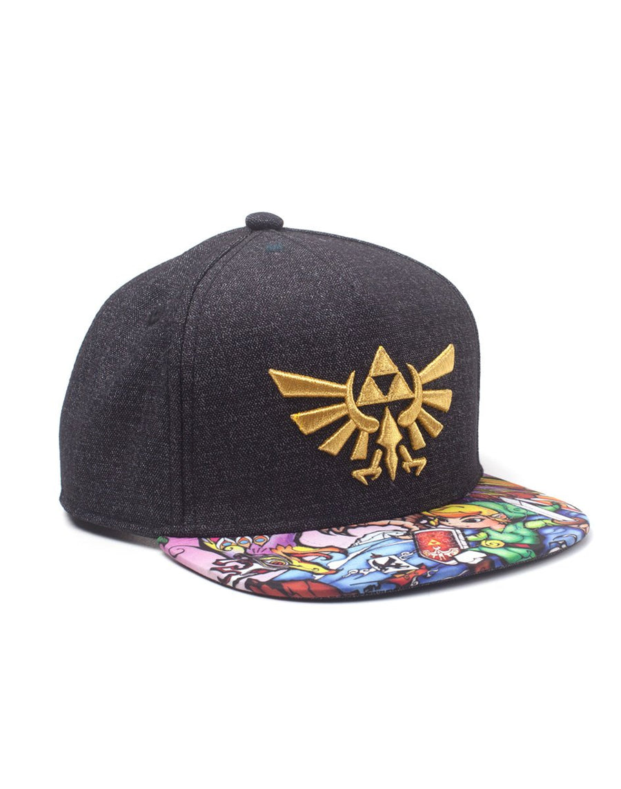 The Legend of Zelda Blackwoods Unisex Snapback Cap