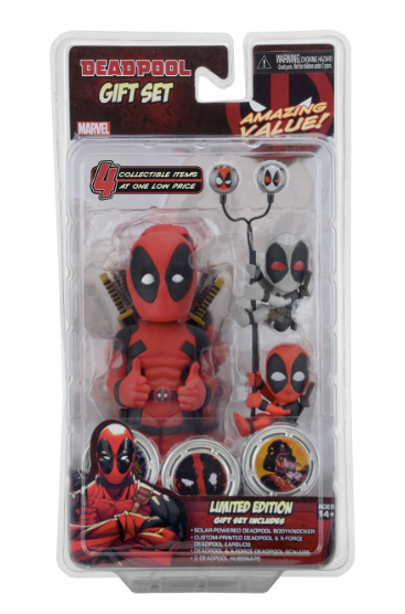 Marvel – Deadpool Limited Edition Deluxe Body Knocker Gift Set
