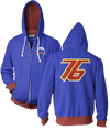 OVERWATCH ULTIMATE SOLDIER 76 ZIP-UP HOODIE & FREE OVERWATCH TEE OFFER