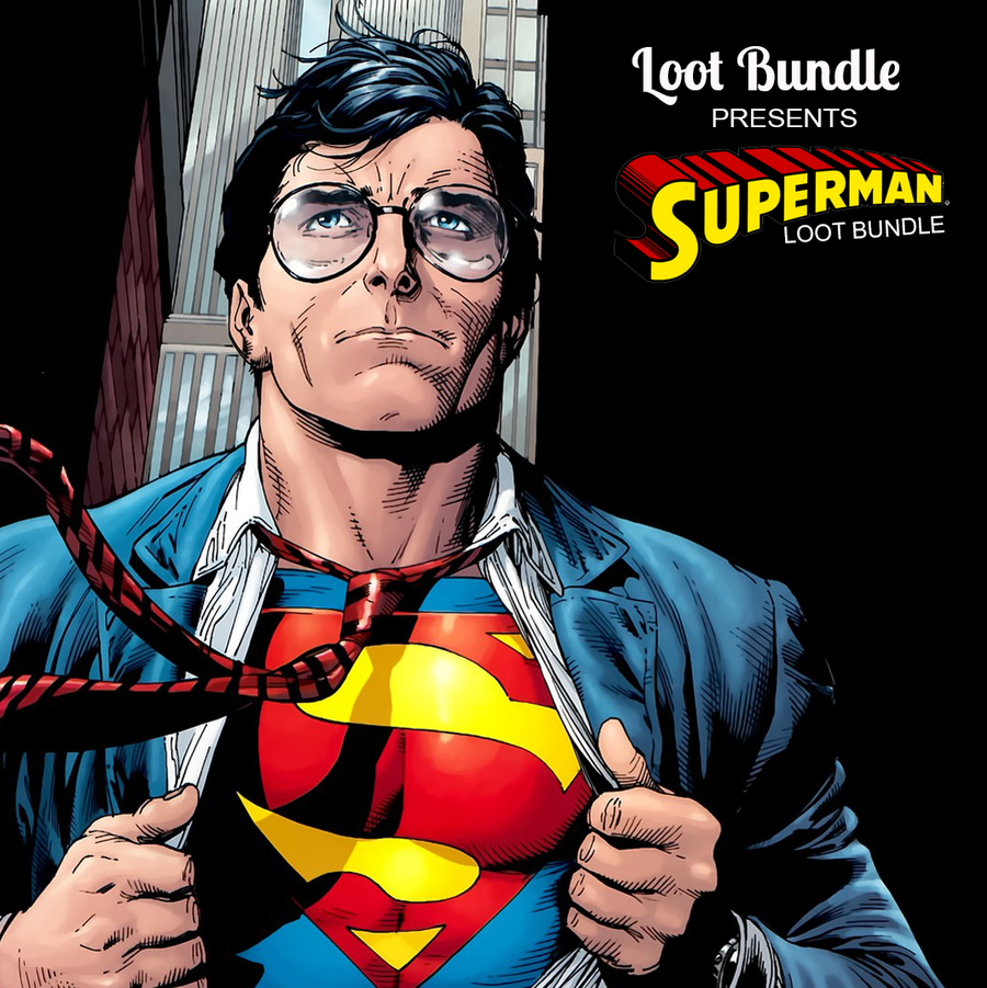 Superman 80th Anniversary Loot Bundle (June 2018 Edition)