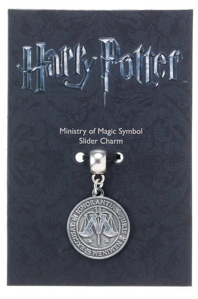 Charm - Harry Potter Charm Ministry Of Magic (silver Plated)
