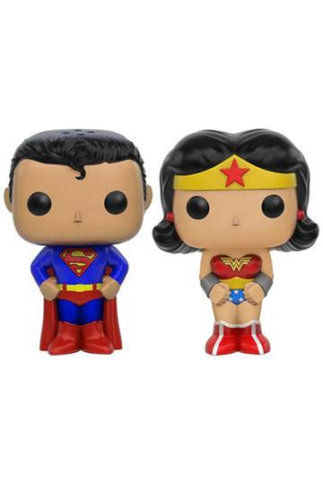 DC Comics POP! Home Salt and Pepper Pots Superman & Wonder Woman