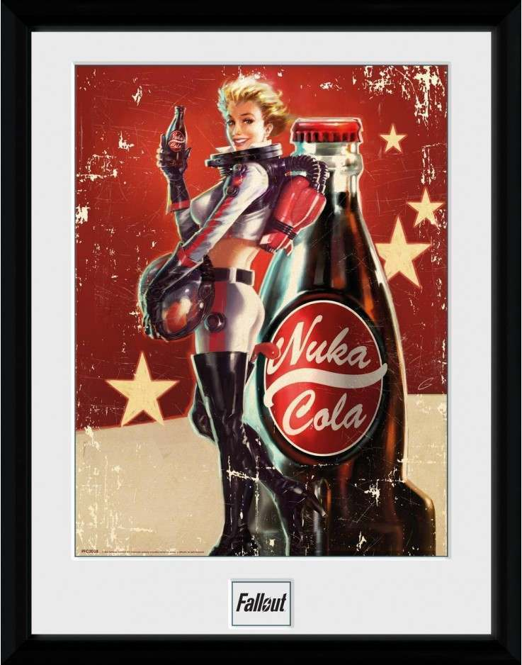 FALLOUT 4 NUKA COLA COLLECTOR PRINT