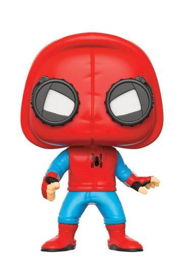 Spider-Man Homecoming FUNKO POP! Marvel Vinyl Figure Spider-Man (Homemade Suit) 9 cm