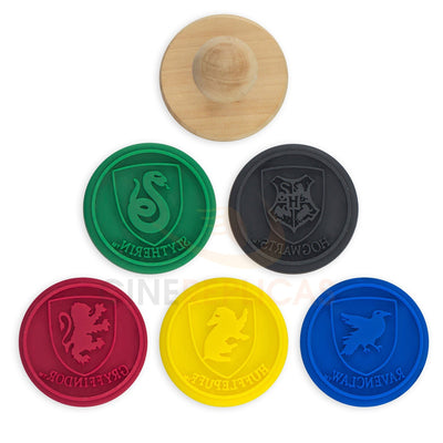Games And Card Games - Harry Potter Cookie Stamp Crests