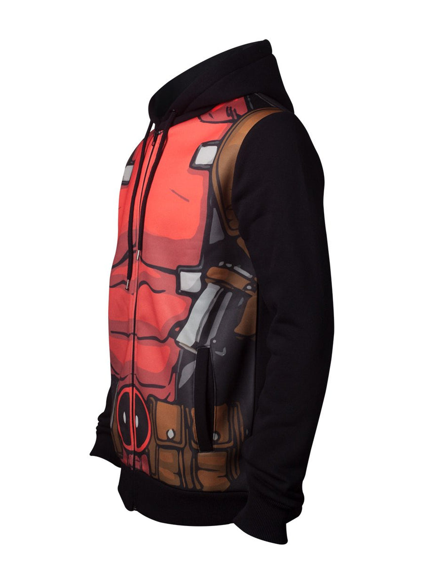 DEADPOOL OFFICAL LICENSED SUBLIMATION HOODIE