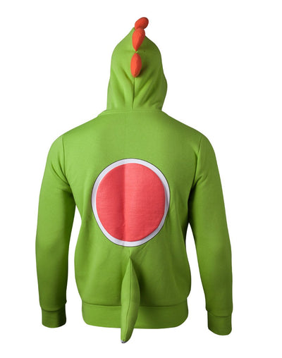Super Mario Yoshi Official Licensed Lady-fit Hooded Sweatshirt