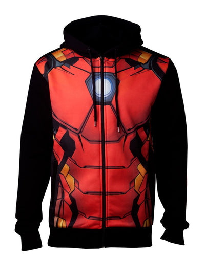 AVENGERS IRON MAN OFFICIAL LICENSED SUBLIMATION HOODIE
