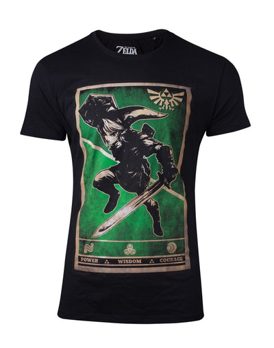 THE LEGEND OF ZELDA - PROPAGANDA LINK TRIFORCE UNISEX T-SHIRT