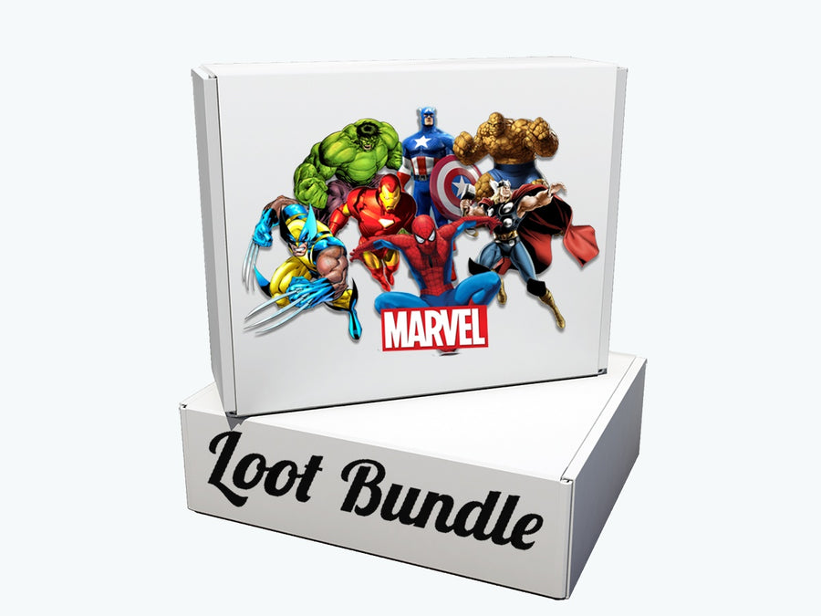 Marvel Comics Official Licensed Loot Bundle (Feb 2018 Edition)