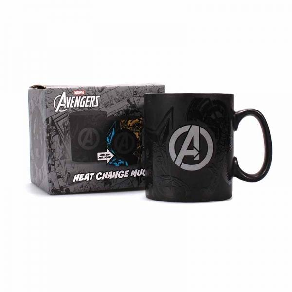 MARVEL AVENGERS HEAT CHANGING MUG - TEAM