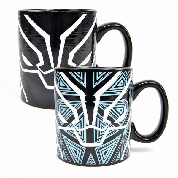 MARVEL BLACK PANTHER HEAT CHANGING MUG