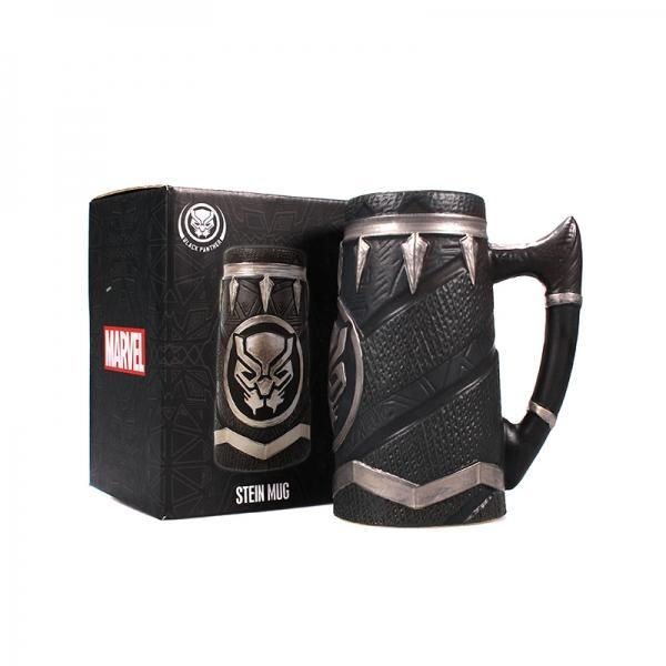 MARVEL BLACK PANTHER STEIN MUG