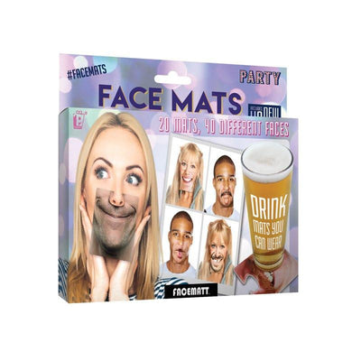 Party Face Mats - Party Props - Destination-G