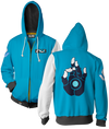 OVERWATCH ULTIMATE SYMMETRA ZIP-UP HOODIE & FREE OVERWATCH TEE OFFER
