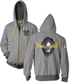 OVERWATCH ULTIMATE WINSTON ZIP-UP HOODIE & FREE OVERWATCH TEE OFFER