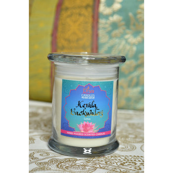 Kerala Backwaters - Sweet Lotus -Premium Scented Soy Candle