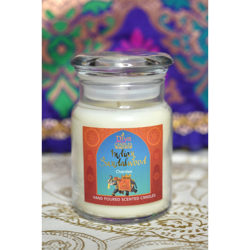 Mysore Sandalwood - Chandan- Premium Scented Soy Candle