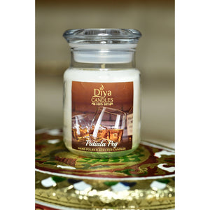 Patiala Peg - Pure Whiskey-Premium Scented Soy Candle
