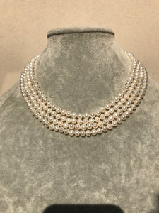 4-Strand Pearl Necklace