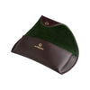 Green and Bordeaux Eyeglasses Case