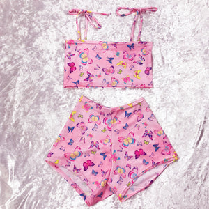 Butterfly BBBBY Shorts Set