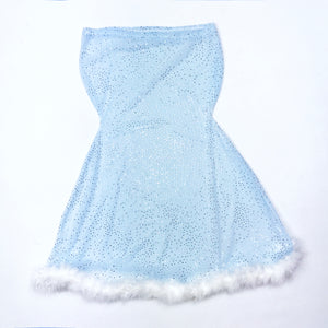 Mistress Slip in ICE Blue