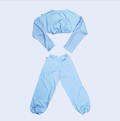 Quarantined Cutie Cozy Set Sky Blue