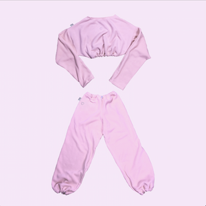 Quarantined Cutie Cozy Set Candy Pink