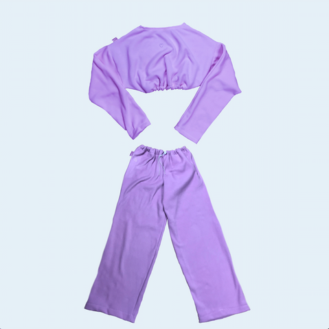 Quarantined Cutie Cozy Set Lilac