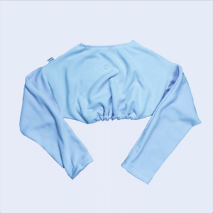 Sky Blue Fleece Cozy Sweater