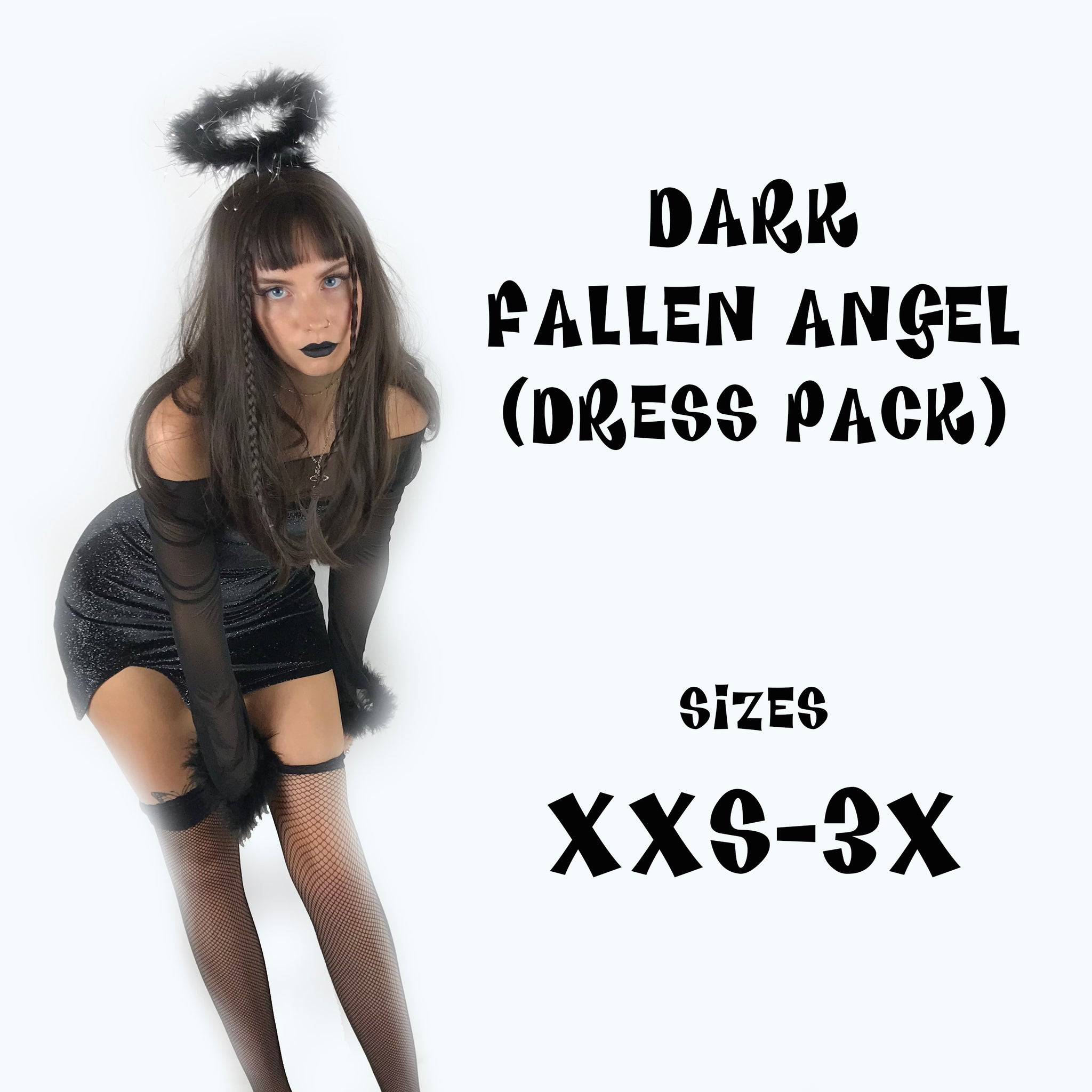 Dark Fallen Angel Dress Pack