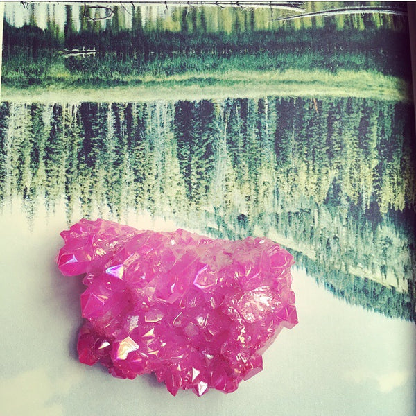 Medium Pink Crystal