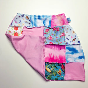 One off Patchwork Skirt Grandmas House Print
