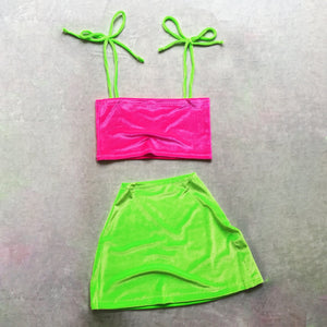 Topsy-Turvy Set Green