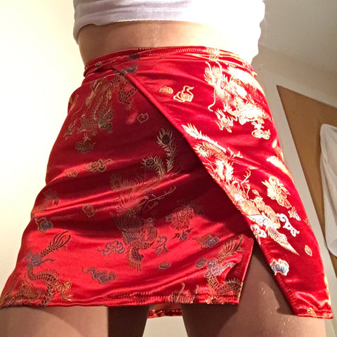 Red Dragon Skirt