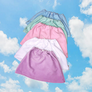 Minty Fresh Fleece Skirt Fits up to Large (medium ideal)