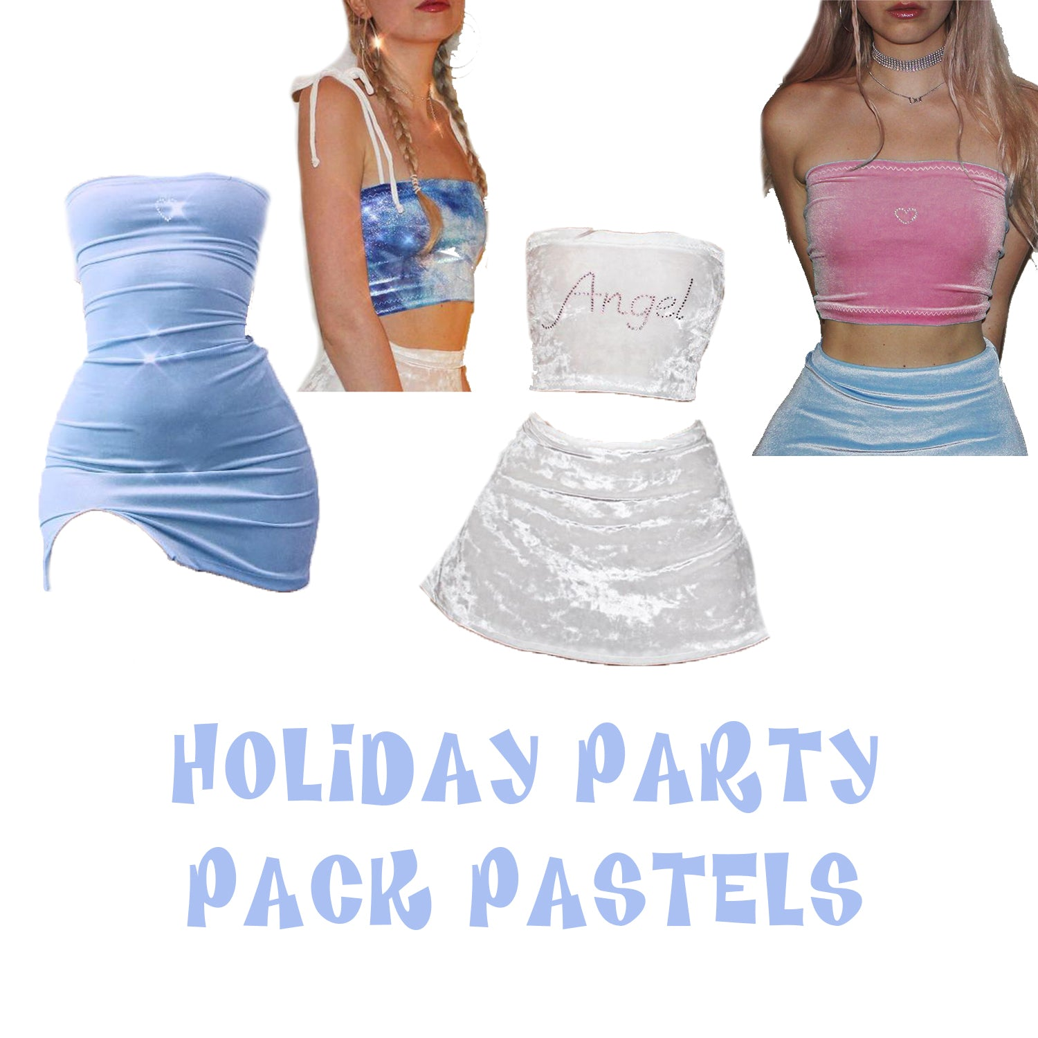 Holiday party Pack Pastels