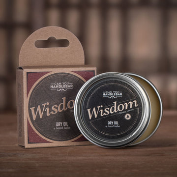 Wisdom Beard Balm - Bright & Woodsy - Can You Handlebar