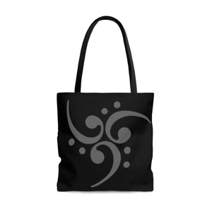 Tote Bag Filthy Bass Clef Spiral