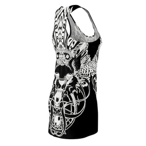 Women's Racerback Dress Tribal 1