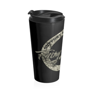 Stainless Steel Travel Mug Rescue Design