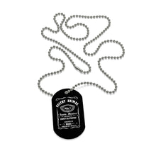 Necklace Dog Tag Filthy Whiskey