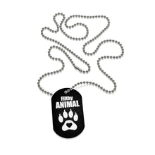 Dog Tag Necklace Filthy Animal