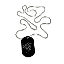 Dog Tag Filthy Bass Clef Spiral