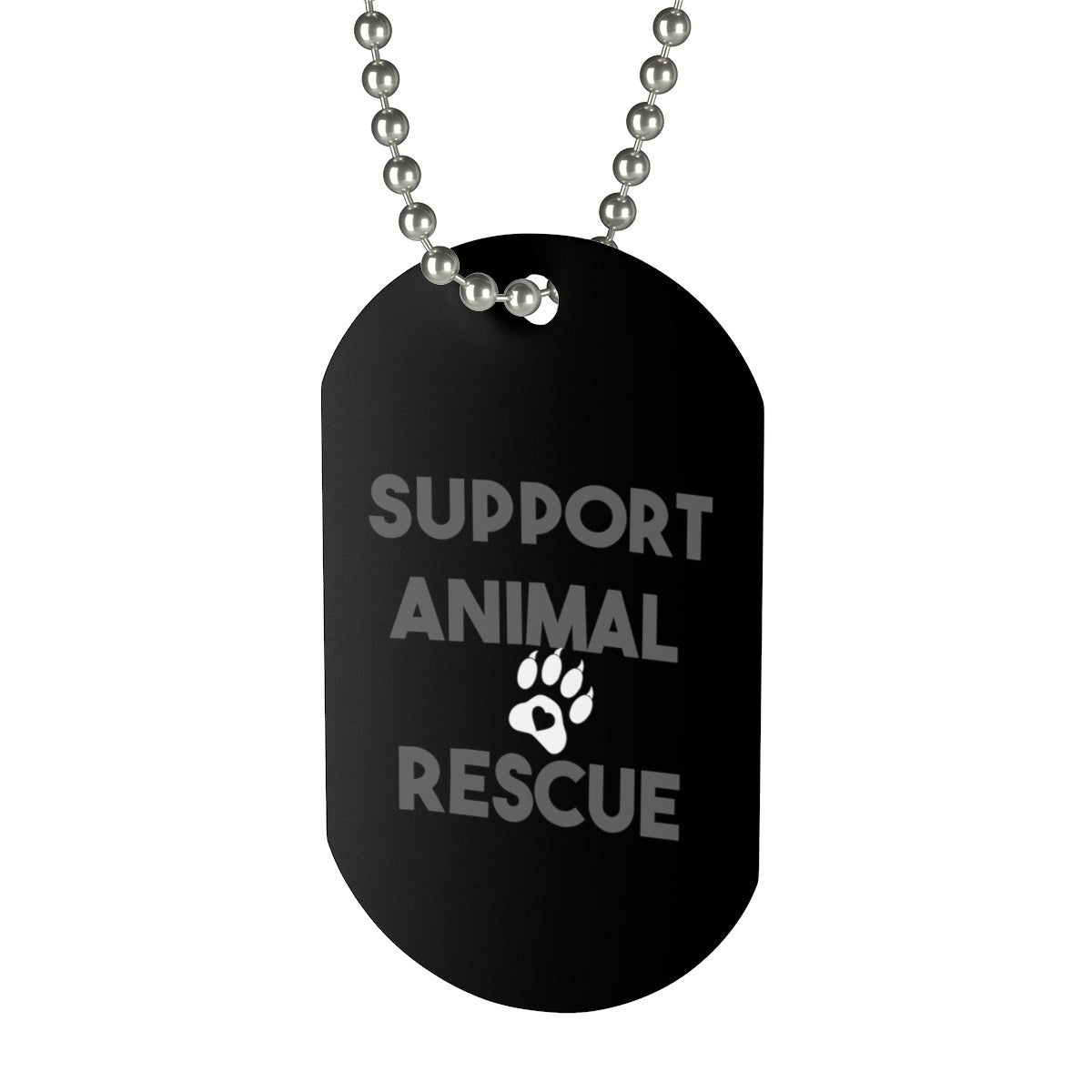 Dog Tag Support Animal Rescue