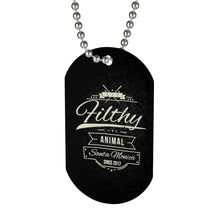 Necklace Dog Tag Paw
