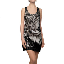 Women's Racerback Native Lion